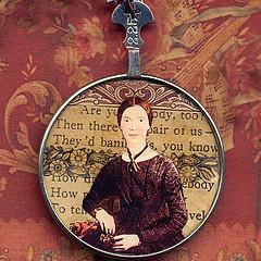 Antique Emily Dickinson locket