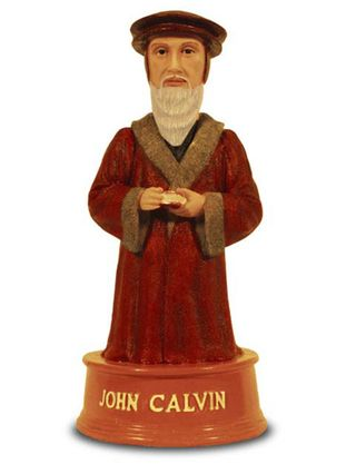 Calvinist bobble-head