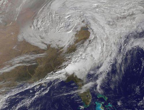 Spring tornado storm