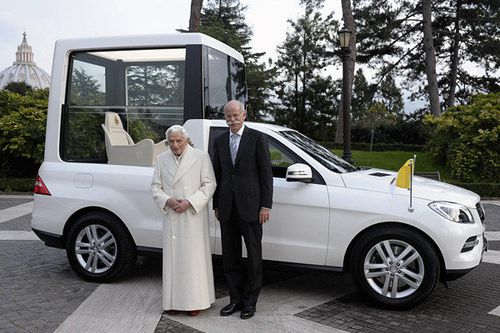 Mercedes-Benz; The Pope,jpg