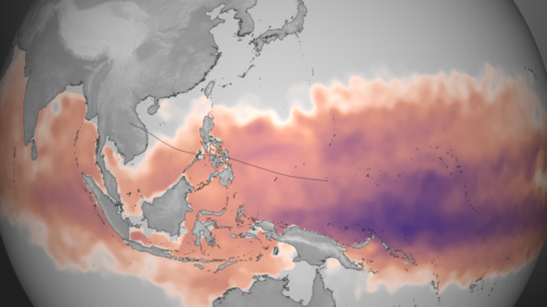 Super Typhoon Haiyan ocean heat content