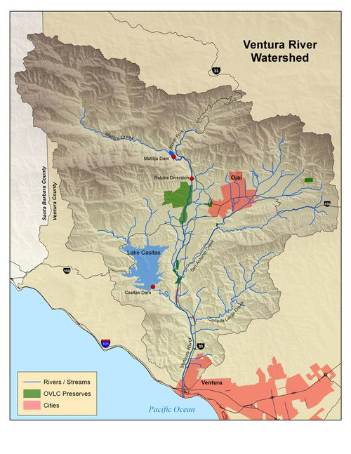 Ojaivalleyventurariverwatershed