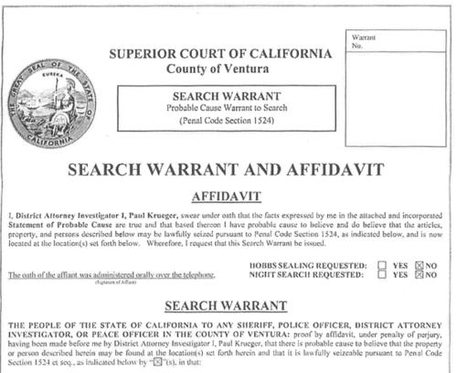Searchwarrant anterra