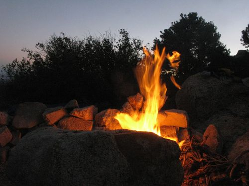 MojaveRidgecampfire