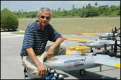 V_ramanathan_and_drone_aircraft_for
